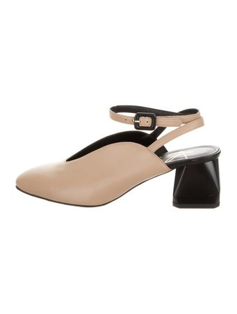 Abel Muñoz Wrap-Around Leather Pumps - Shoes - W7A20546 | The RealReal