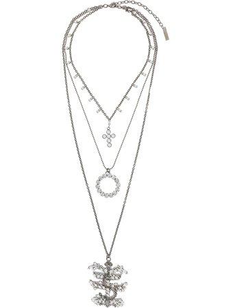 Ermanno Scervino Crystal Embellished Necklace - Farfetch