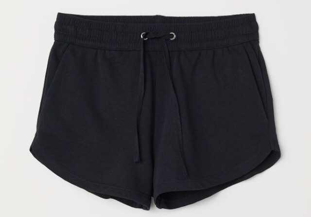 h&m black lounge shorts h & m pajamas short lounge sweat sweatshorts