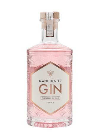 Manchester Gin Raspberry Infused : Buy from The Whisky Exchange