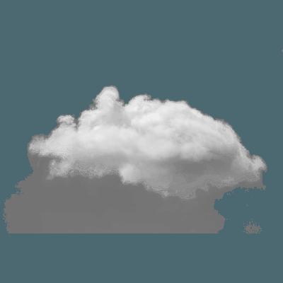 Small Single Cloud transparent PNG - StickPNG