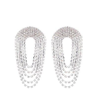 Crystal Drop Earrings | Alessandra Rich - mytheresa.com