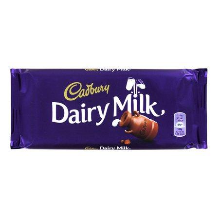 Cadbury Dairy Milk Chocolate 100g - 3.5oz
