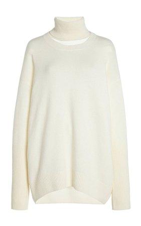 Turtleneck Cashmere Sweater by Zeynep Arçay | Moda Operandi