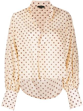 Jejia, polka dot blouse