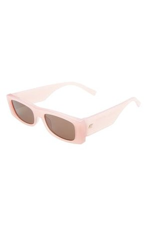 Le Specs Recovery 53mm Rectangle Sunglasses | Nordstrom