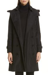 Kensington Trench Coat with Detachable Hood