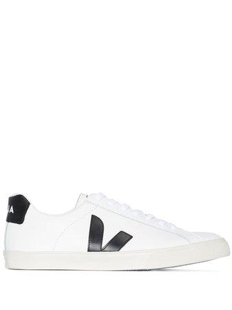 Veja Esplar Low Top Leather Sneakers - Farfetch