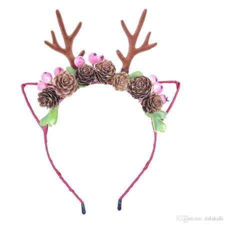 Elk Antlers Hair Hoop Headband Christmas Flower Deer Horn Hairband Kids Fashion Xmas Hair Accessory Buy Hair Accessories Online Hair Accessories For Prom From Zalakids, $3.36| DHgate.Com
