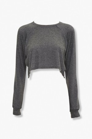 Raglan-Sleeve Lounge Top | Forever 21