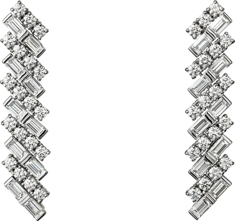 Cartier REFLECTION DE CARTIER EARRINGS WHITE GOLD, DIAMONDS