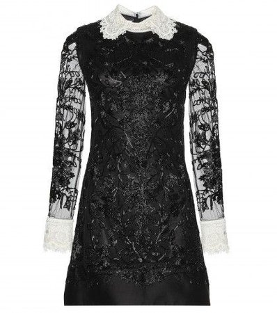 Valentino Beaded Tulle Dress