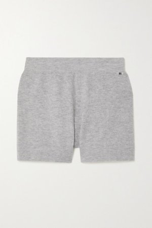 Very Cashmere-blend Shorts - Gray
