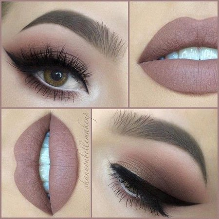 """Shannon Belle ???? on Instagram: """"Another day, another nude lip! With... ❤ liked on Polyvore featuring beauty products, makeup, lip makeup, lips makeup, lip cosmetics and nude cosmetics"""