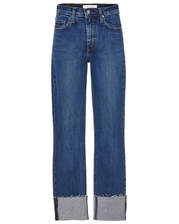 Nobody Denim True Cropped Mid-Rise Skinny Jeans