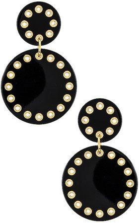 Corset Drop Earrings