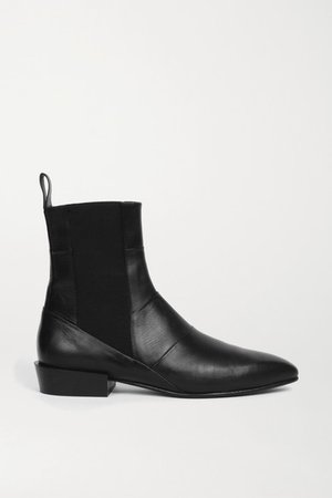 Dree Leather Chelsea Boots - Black