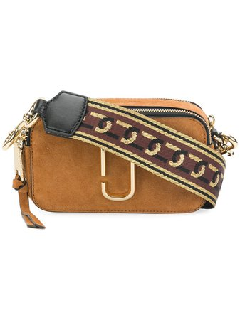 Brown Marc Jacobs Snapshot camera bag - Farfetch