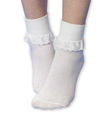 white lace socks - Google Search