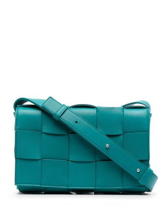 Bottega Veneta Cassette maxi-weave Crossbody Bag - Farfetch