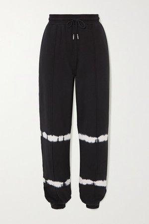 Ninety Percent | Pantalon de survêtement en jersey de coton biologique tie & dye | NET-A-PORTER.COM