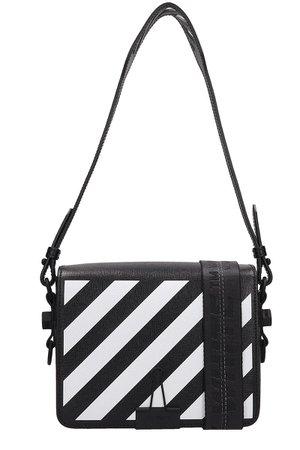 Off-White Diagonal Blinder Clip Bag
