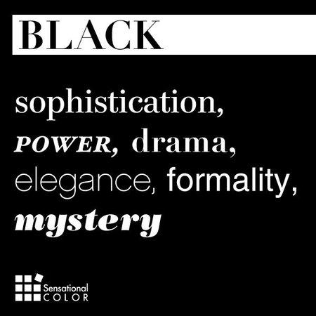 Describe black