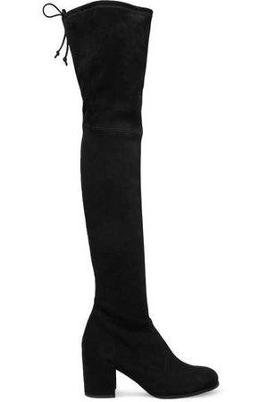Stuart Weitzman | Tieland suede over-the-knee boots