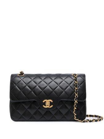 Chanel Pre-Owned 1985-1990 Double Flap shoulder bag - FARFETCH