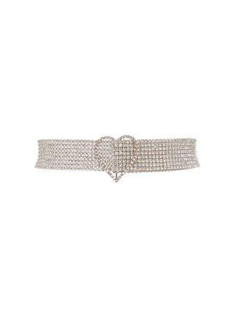 heart embellished belt