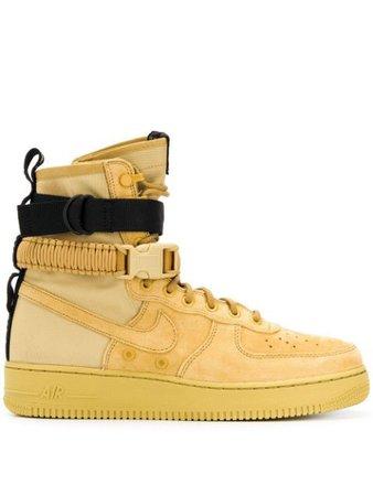 Nike Sf Air Force 1 High Top Sneakers 864024700 Yellow | Farfetch