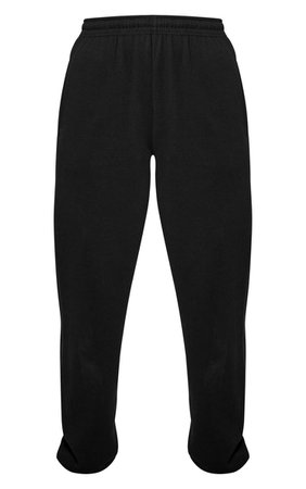 Black Casual Jogger   Pants   PrettyLittleThing USA