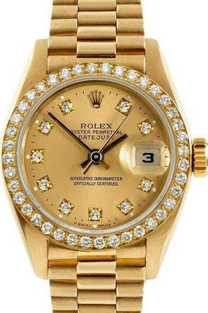 Gold Women Rolex
