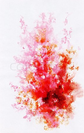 red watercolor - Google Search