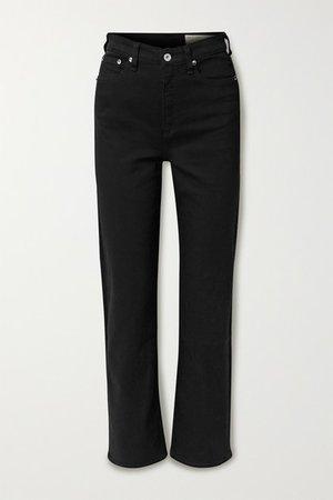 rag & bone   Jane Super high-rise straight-leg jeans   NET-A-PORTER.COM