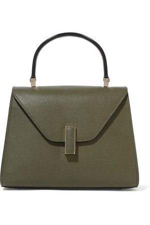 Valextra | Iside mini textured-leather tote | NET-A-PORTER.COM