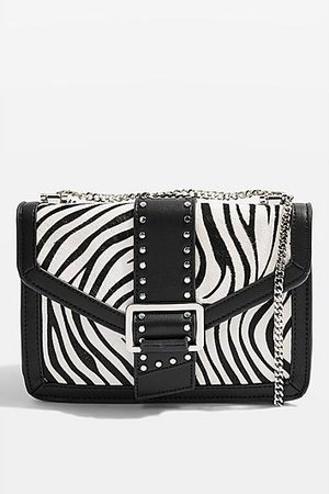 Samira Zebra Bucket Bag - Trend: Animal Print - Clothing - Topshop
