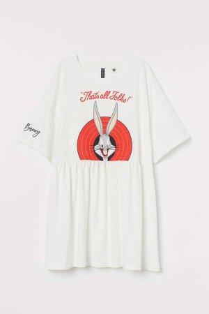 Oversized T-shirt - White