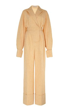 Cotton-Blend Jumpsuit by Emilia Wickstead | Moda Operandi