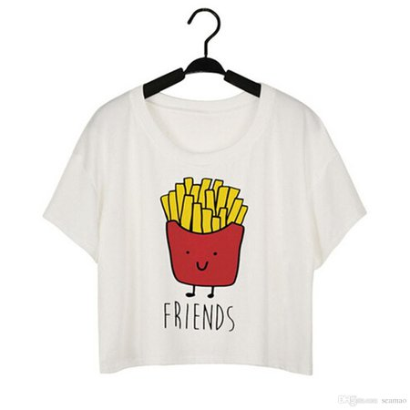 french fries tee short - Google Search