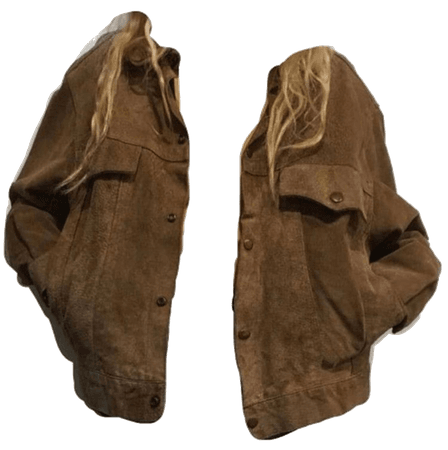 aesthetic clothes png retro jacket brown