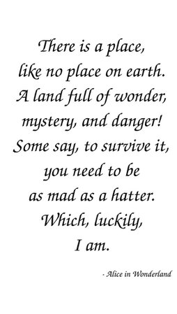 20 Inspiring Alice in Wonderland Quotes - Quotes and Humor