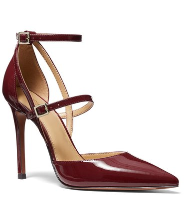 red Michael Kors Women's Cardi Pumps & Reviews - Pumps - Shoes - Macy's