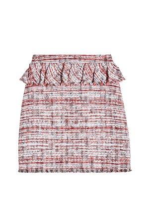 Peplum Boucle Skirt Gr. IT 38