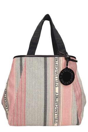 Stella McCartney Multicolor Faux Leather Tote Patchwork Bag