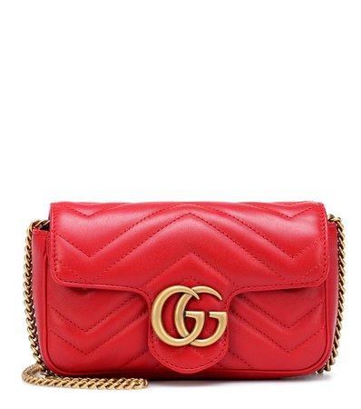 Gg Marmont Super Mini Shoulder Bag - Gucci | mytheresa