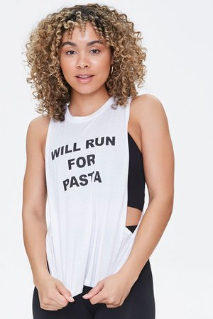 Active Run for Pasta Muscle Tee | Forever 21