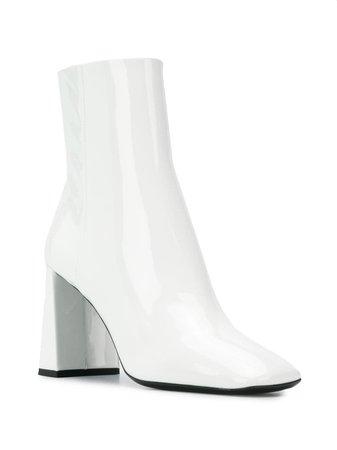 Prada Ankle Zip Boots Aw19 | Farfetch.com