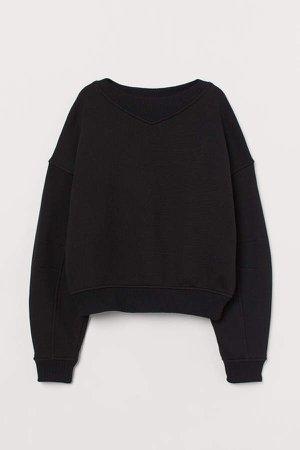 Boxy Sweatshirt - Black