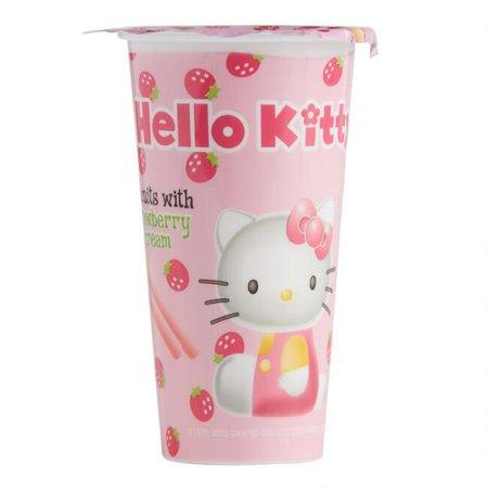 Hello Kitty Strawberry Dip Biscuits, Set of 8 | World Market